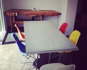 Beton Tisch