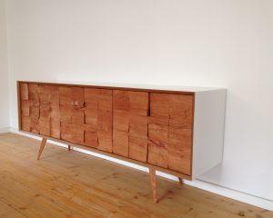 Sideboard / Kirschbaum Spaltholz
